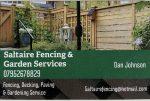 Saltaire Fencing & Garden Service